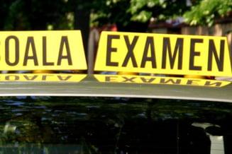 Reprogramari pentru examenul auto. Vizati - candidatii care au ratat examinarea, din cauza starii de urgenta