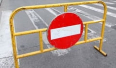 Restrictie de trafic in zona centrala a Ramnicului, marti, 22 august