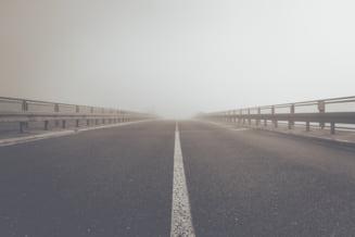 Restrictii de circulatie pe A1 Bucuresti - Pitesti. Kilometrii intre care se asfalteaza