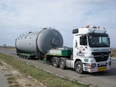 Restrictii de circulatie pe DN1, din cauza unui transport agabaritic