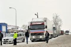 Restrictii de tonaj la puctele de frontiera Giurgiu, Silistra, Vama Veche si Negru Voda