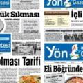 Retete culinare pe prima pagina a ziarului, in semn de protest fata de presiunile la adresa presei