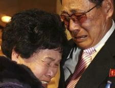 Reuniune de familie intre Coreea de Nord si Coreea de Sud