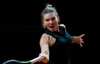 Revansa perfecta pentru Simona Halep. Calificare la pas in semifinale la Stuttgart. Cu cine va juca in careul de asi VIDEO
