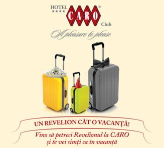 Revelion 2014: Vino la Hotel Caro si te vei simti ca intr-o vacanta de lux!