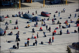 Revin la Cluj muncitorii plecati la cules sparanghel implicati in scandaluri in Germania