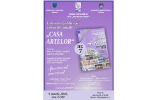 """Revista """"Casa Artelor"""" lanseaza un nou numar"""