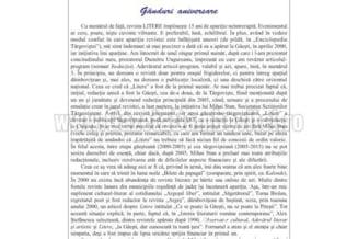 Revista LITERE sarbatoreste 15 ani de aparitie