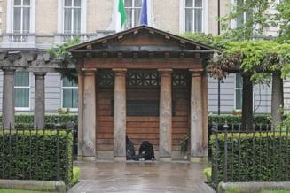 Revolta la Londra, dupa ce cersetorii romani au ocupat un memorial al atentatelor din 11 septembrie