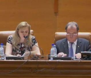Revolutie in Parlament: Blaga, Anastase si Avocatul Poporului, schimbati intr-o zi de USL