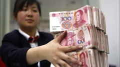 Rezerva valutara a Chinei: primul declin in peste 10 ani