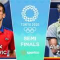 """Rezultat """"bombă"""" la Jocurile Olimpice: Novak Djokovici, învins în semifinale de Zverev! Marele vis al sârbului s-a năruit"""