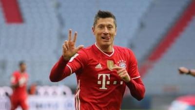 Rezultat incredibil in Bundesliga. Bayern Munchen a jucat 80 de minute in inferioritate numerica, iar scorul final e uluitor