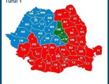 Rezultate alegeri prezidentiale 2014 turul 1