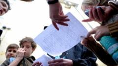 Rezultate dezastruoase la simularea evaluarii nationale: Jumatate dintre elevi au luat sub 5