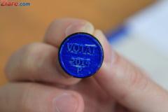 Rezultate exit poll - alegeri prezidentiale 2014 si harta prezentei la vot pe judete