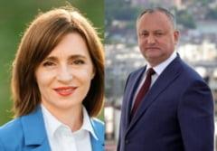 Rezultate finale: Maia Sandu a castigat primul tur al alegerilor prezidentiale din Republica Moldova, invingandu-l pe Igor Dodon