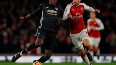 Rezultate spectaculoase in Premier League: Manchester United s-a impus clar pe terenul lui Arsenal