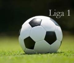 Rezultatele inregistrate in Liga 1. Campionatul se incheie vineri