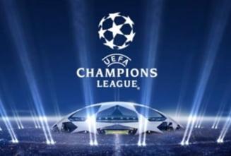 Rezultatele inregistrate miercuri in grupele Champions League si clasamentele finale