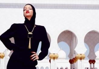 Rihanna, alungata dintr-o moschee