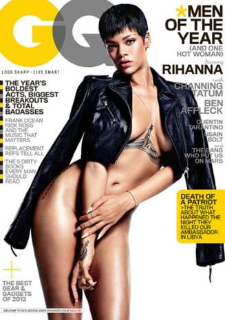 Rihanna, fuga dupa glorie, dezbracata