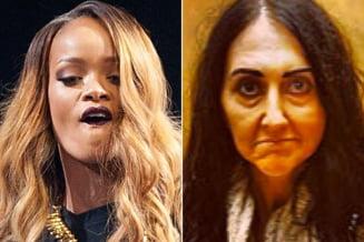 Rihanna, unei jurnaliste: Acritura neingrijita, trista si la menopauza!
