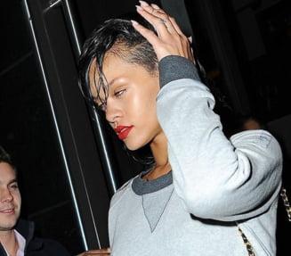Rihanna socheaza din nou: aparitie deplorabila la un eveniment
