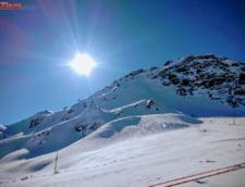 Risc mare de avalansa in Fagaras si Bucegi: 135 cm de zapada la Balea Lac