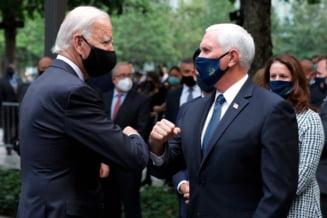 Rivalitatea dintre Trump si Biden, afisata la ceremoniile de comemorare a atentatelor de la 11 septembrie 2001