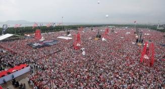 Rivalul lui Erdogan sustine ca a strans 5 milioane de oameni la mitingul de dinaintea alegerilor prezidentiale