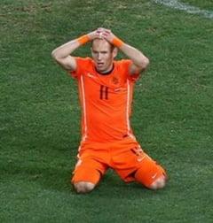 Robben, devastat dupa ratarile din finala Cupei Mondiale