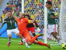 Robben, jucatorul meciului in Olanda - Mexic: Ce cifre remarcabile a avut batavul la CM 2014