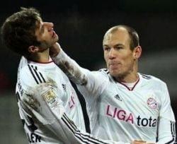 Robben l-a batut pe Muller chiar pe teren! (Galerie foto)