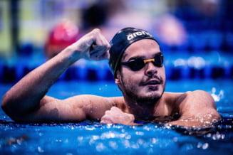 Robert Glință, pe ultimul loc în finala de 100 metri spate. Cine este noul campion olimpic