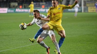 Robert Moldoveanu, gol uluitor din foarfeca a la Zlatan Ibrahimovici in derbiul Petrolul - U Cluj (Video)