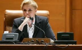 Roberta Anastase, revocata de la sefia Camerei Deputatilor (Video)