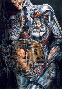 Robotii evolueaza in oameni sau oamenii in roboti ?