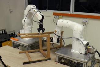 Robotii tocmai au invatat sa faca una dintre cele mai grele activitati umane: Asamblarea mobilei Ikea (Video)