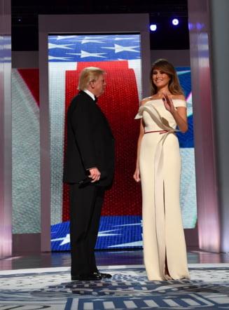 Rochia purtata de Melania Trump la balul de dupa investirea sotului va fi donata la muzeu
