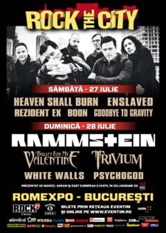 Rock the City 2013: Vezi ce trupe vor canta la festival!
