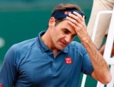 Roger Federer, batut la el acasa. Esec dureros al elvetianului, la revenirea in circuit VIDEO