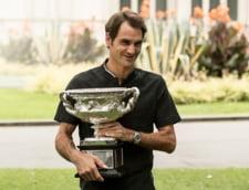 Roger Federer, declaratii emotionante despre noul trofeu de la Australian Open