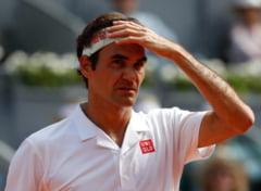 Roger Federer, eliminat dramatic la Madrid