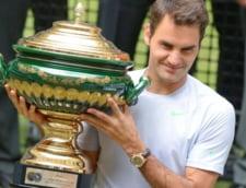 Roger Federer, o noua performanta de invidiat. Cate trofee are in cariera