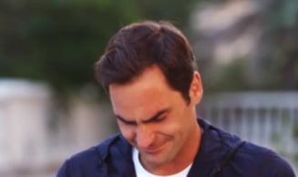 Roger Federer a izbucnit in lacrimi in timpul unui interviu pentru CNN
