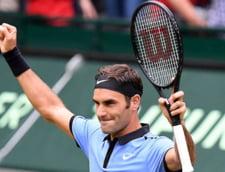 Roger Federer castiga la Halle intr-o maniera de mare campion