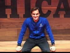 Roger Federer da o lectie de modestie dupa ce a scris inca o pagina de istorie in tenis
