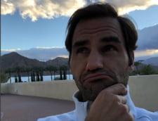 Roger Federer da o mare lectie de fair-play dupa eliminarea de la Miami