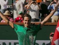 Roger Federer e marele campion de la Indian Wells